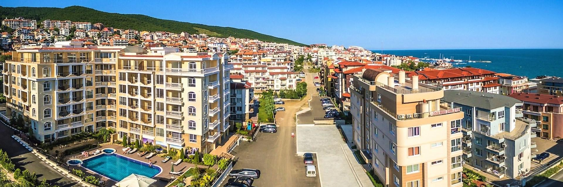 Luxury SPA apartments for sale in St. Vlas close to beach