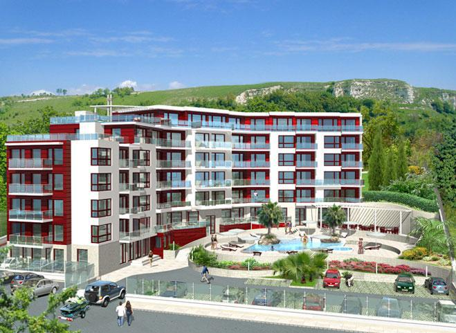 luxury apartment complex near kavarna beach quality