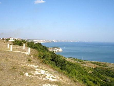 Seaview plot for sale with project for house - Topola, Kavarna, Thracian Cliffs golf