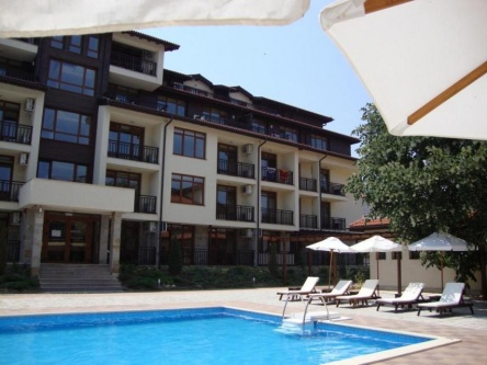 Residential units on the Bulgarian Riviera
