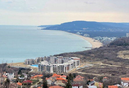Building plot for sale near Albena and Balchik with sea view