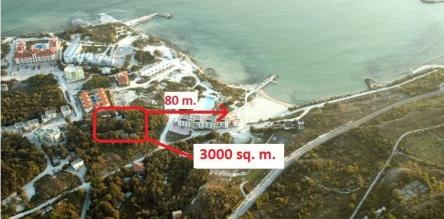 Development plot for sale close to beach near Balchik and Kavarna