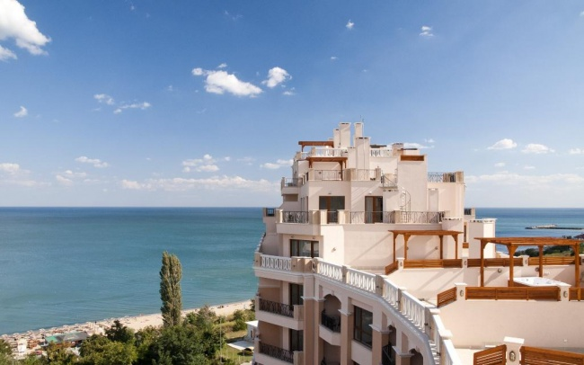 Luxury beach front apartments near Varna and Golden Sands