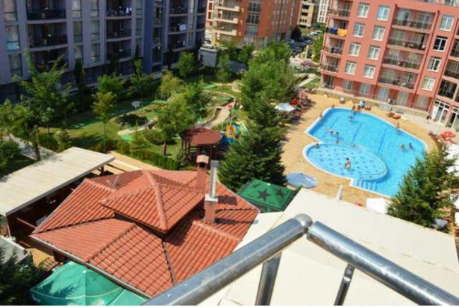 Furnished two bedroom apartment for sale in Sunny Beach