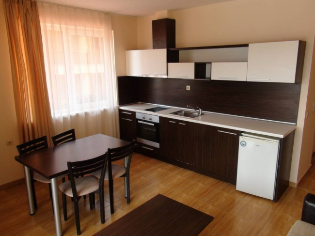 Two bedroom furnished apartment for sale in Magic Dreams development, St. Vlas