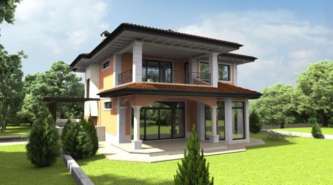 Off plan house near Varna