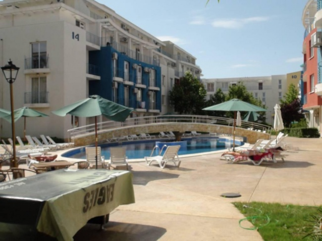 Two bedroom furnished apartment in Sunny Beach very low price