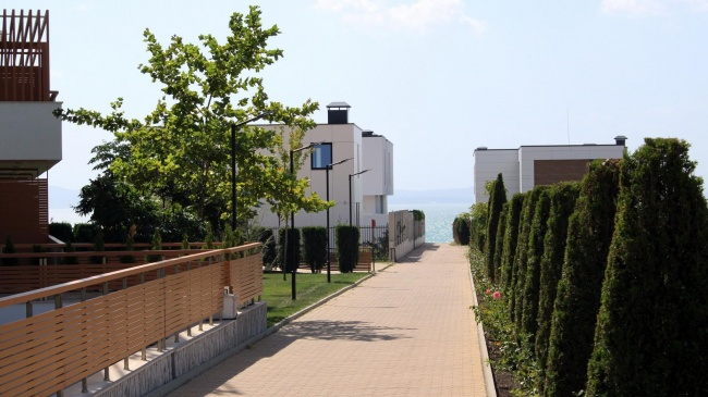 New home for sale on the sea coast in Bourgas