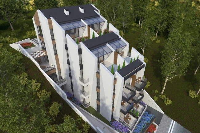 New apartments for sale in a contemporary residential building in Sozopol close to beach