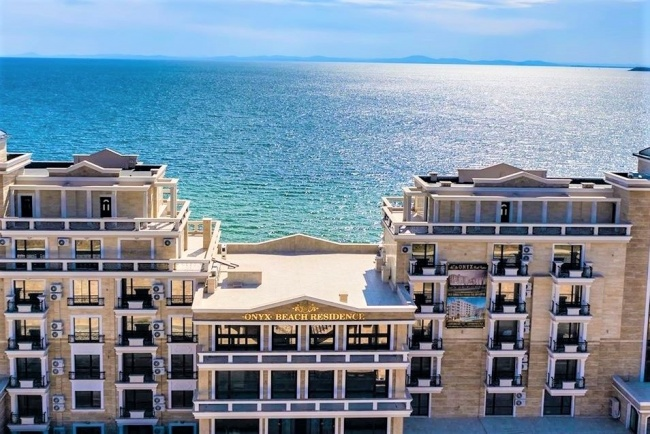 Beach front condos in Bulgaria - new development for sale in St. Vlas