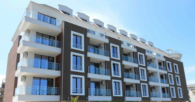 Luxury beach apartments for sale in Primorsko
