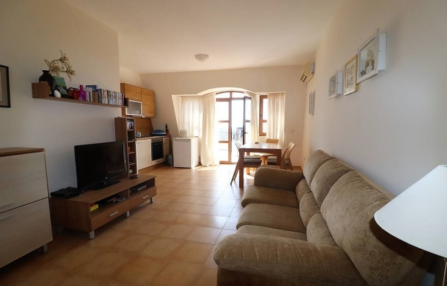 Low priced 2 bedroom apartment for sale near Sunny Beach in a quiet place