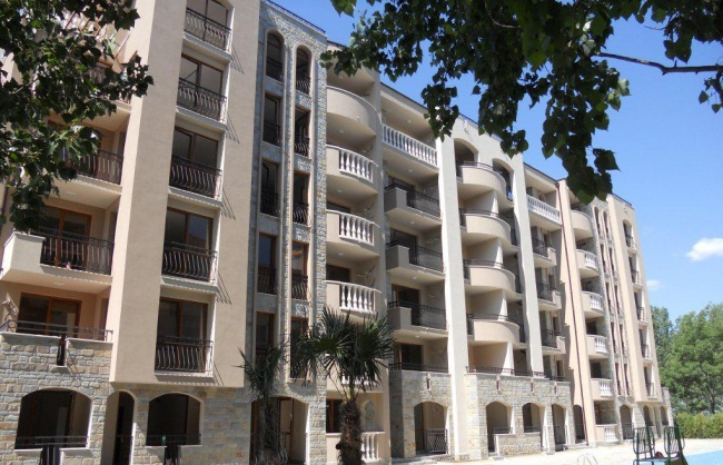 New built apartments in Sunny Beach