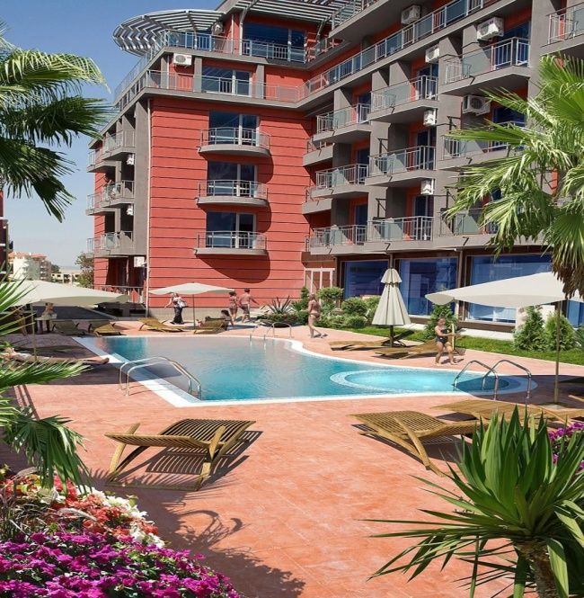 Sale of top located fully furnished apartment in Sunny Beach