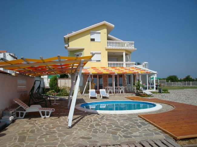 Beachfront home for sale near Sozopol