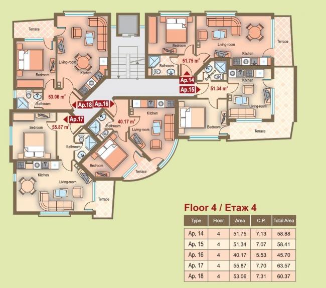 New built apartments at low cost - Bulgarian Riviera