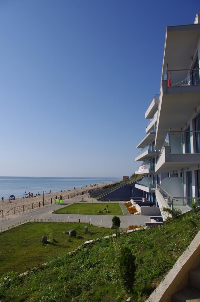 Beachfront apartments in Bulgaria