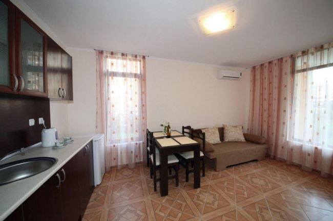 Apartments and studios for sale in the southern part of Sunny Beach