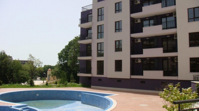 Apartments for sale near aquapark Golden Sands