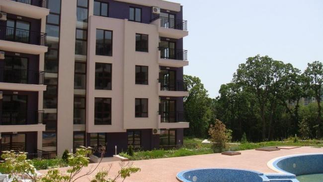 Apartments for sale near aquapark Golden Sands