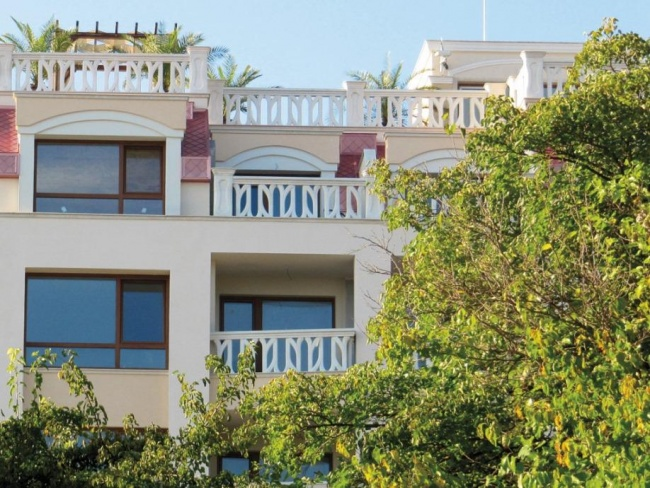 Beach front apartments in Varna