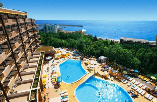 Hotel studio in Golden Sands Bulgaria