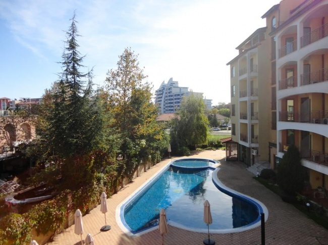 Apartments in the centre of Sunny Beach