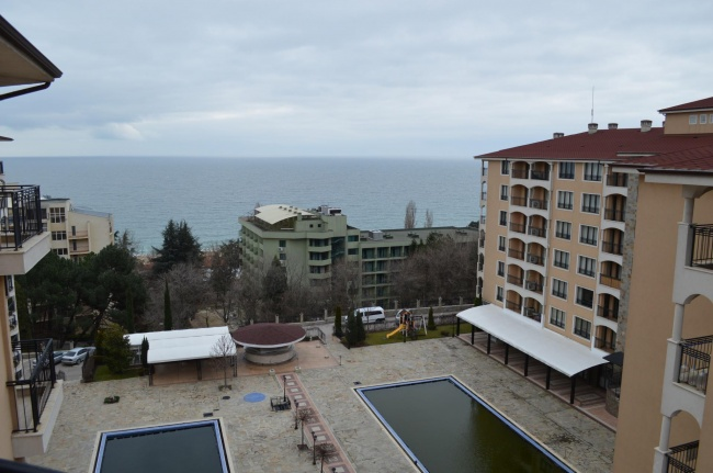 Two bedroom seaview apartment sale in Golden Sands