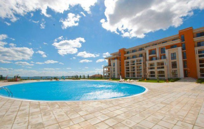 Superb sea front apartments in Sunny Beach