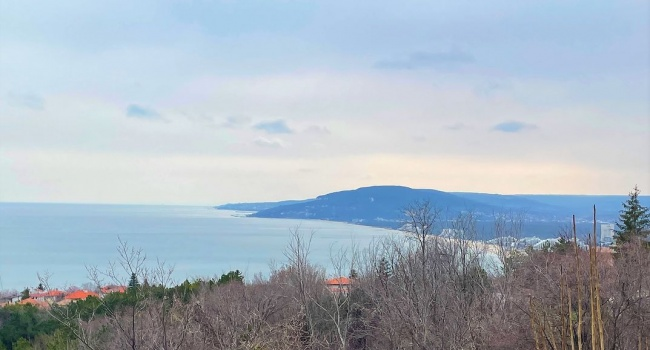 Building plot for sale close to Albena and Balchik with sea view