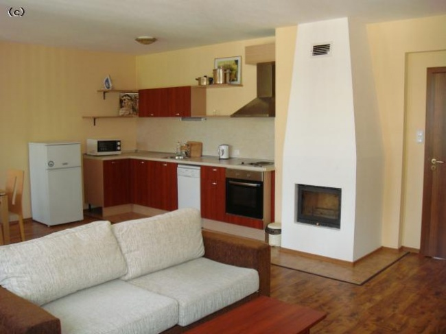 Bansko 2 bedroom furnished apartment for sale