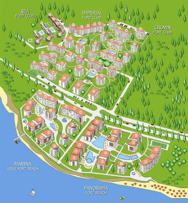 Coastal apartments for sale near St. Vlas and Elenite resorts