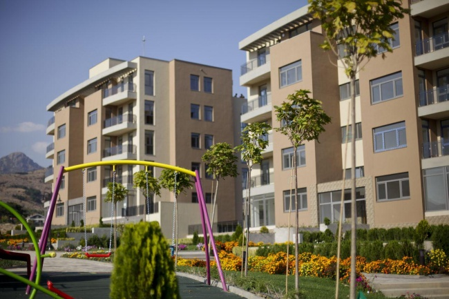 New built apartments for sale in Sliven with gas central heating
