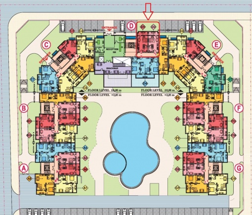 Off plan sea condo for sale in St. Vlas