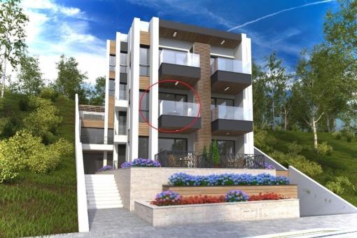 Coastal apartment for sale in Sozopol