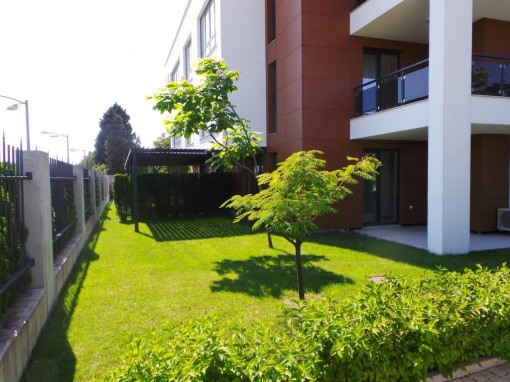 Garden apartment for sale in Bourgas