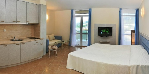 Furnished studio for sale on the beach - Bulgaria