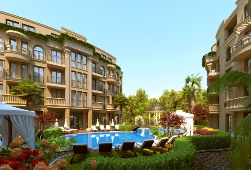 2-bedroom apartment in a new development in Sunny Beach