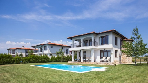 Individual villa for sale at Black Sea Rama golf resort