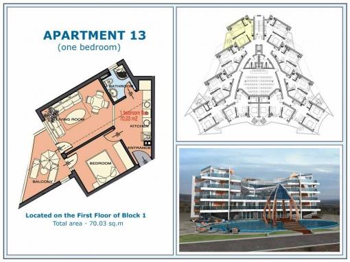 Beachfront penthouse for sale in Ravda