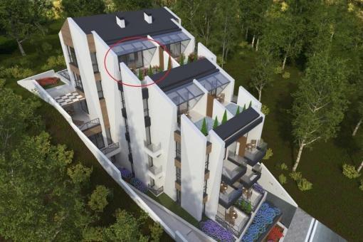 Coastal penthouse for sale in Sozopol - Bulgaria
