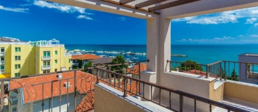 Beachfront penthouse for sale