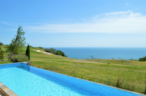 Luxury seaview golf villa for sale in Black Sea Rama resort